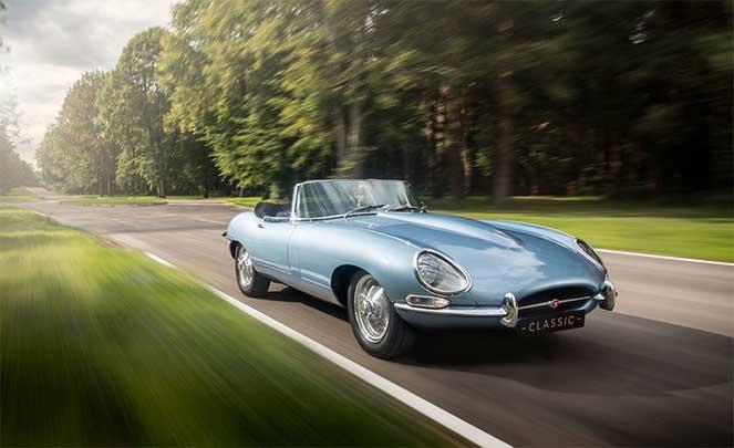 Jaguar представила классику будущего