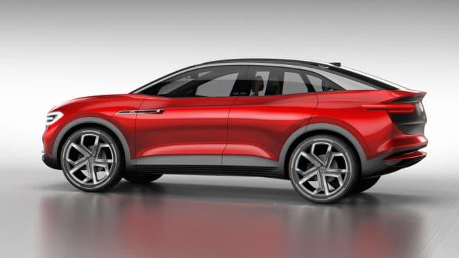 Volkswagen представил электрокроссовер I.D. Crozz