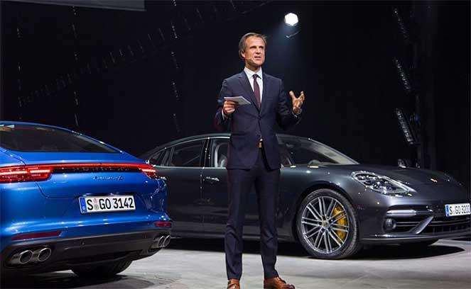 Porsche – Михаэль Мауэр