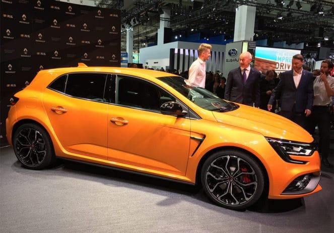 Renault MeganeRS: что нового