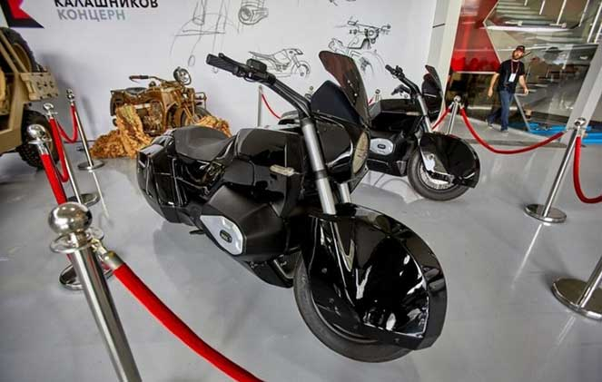Оружейный концерн Калашникова представил свои мотоциклы