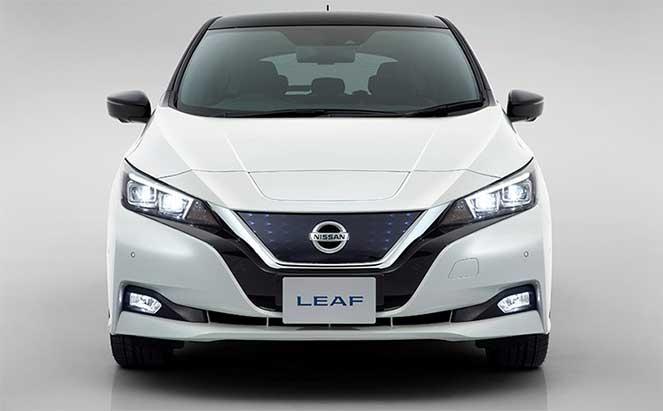 Компания Nissan представила новую версию Leaf