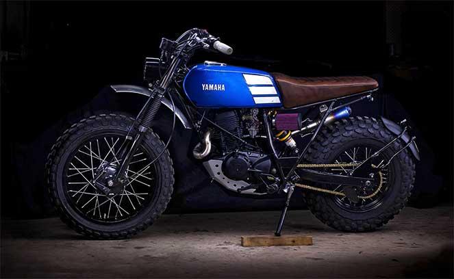 Оригинальный кастом Yamaha TW200 от мастеров Lanesplitter Garage