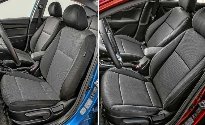 Отличительные особенности Kia Rio и Hyundai Solaris