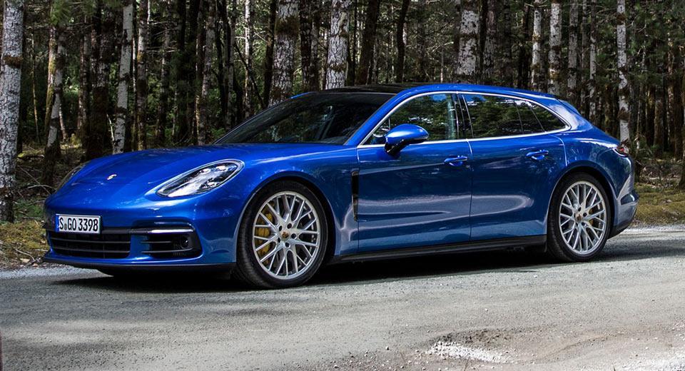 Porsche мощнейший универсал