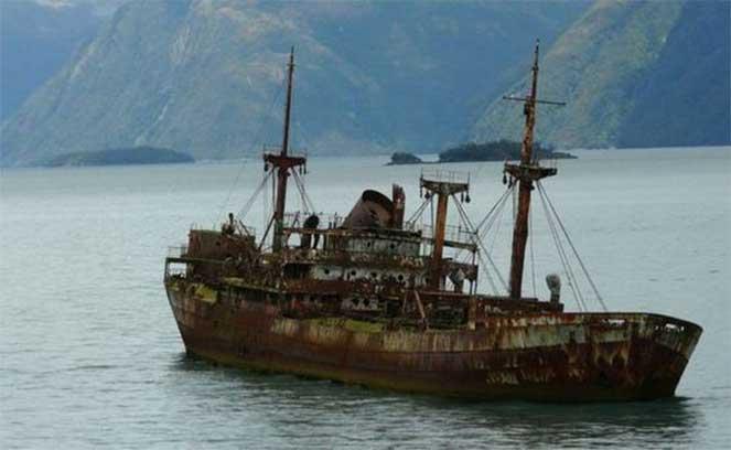Пропавший в Бермудском треугольнике пароход «вернулся» через 90 лет