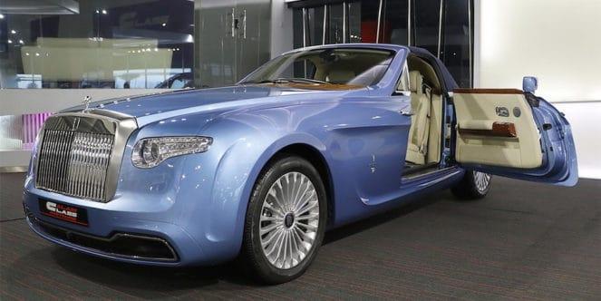 Уникальный Rolls-Royce выставили на продажу