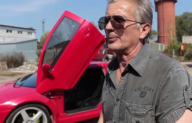 Умелец из Украины создал копию суперкара Lamborghini