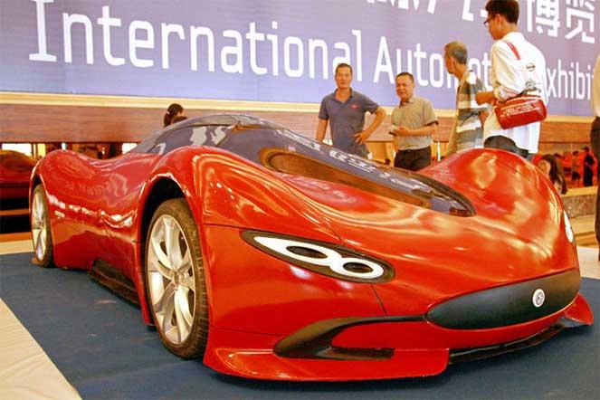 Изобретательный житель Китая собрал суперкар за $4800