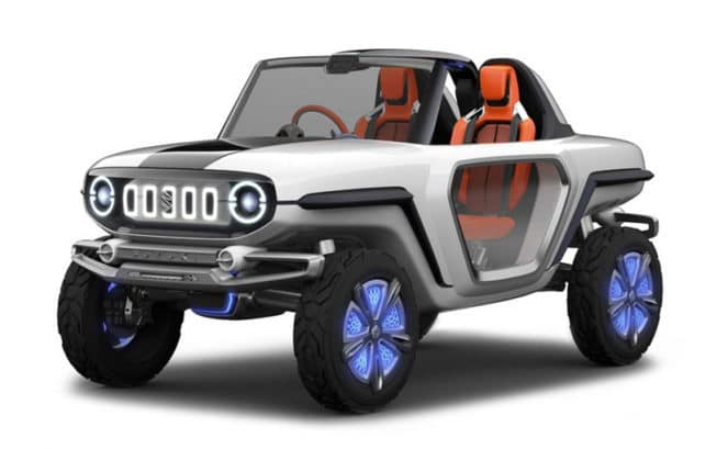 Suzuki представила мини-внедорожник