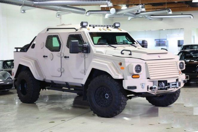 Terradyne Armored Vehicle