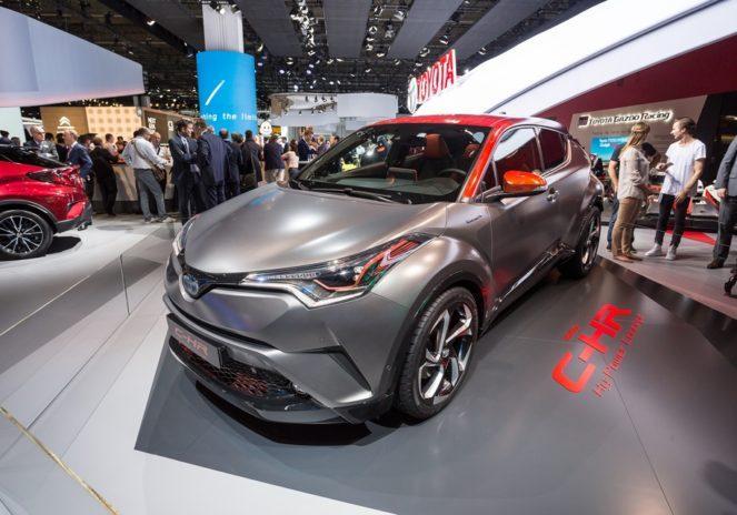 Новый субкомпактный кроссовер C-HR Hy-Power от Toyota