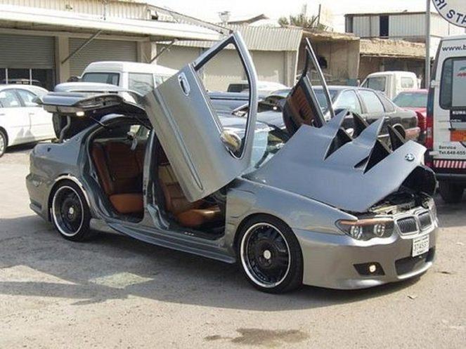 Тюнингованая BMW
