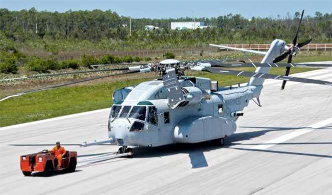 Вертолетная новинка CH-53K King Stallion запущена в массовое производство