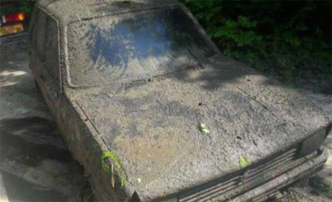 Во Франции пенсионерке вернули авто, которое было украдено 38 лет назад