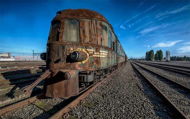 Заброшенный «Восточный экспресс» — шикарный поезд из прошлого