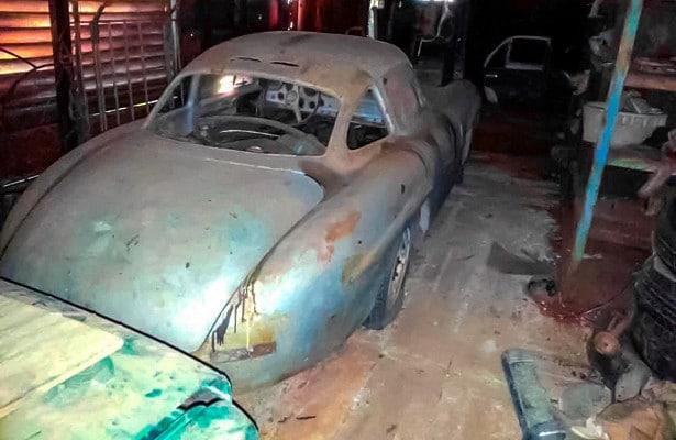 Редчайший Mercedes забыли в кубинском гараже на 30 лет