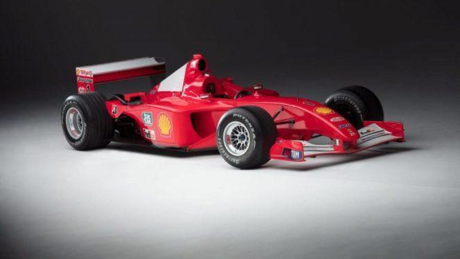 Ferrari, принадлежавший Михаэлю Шумахеру, уйдет с молотка