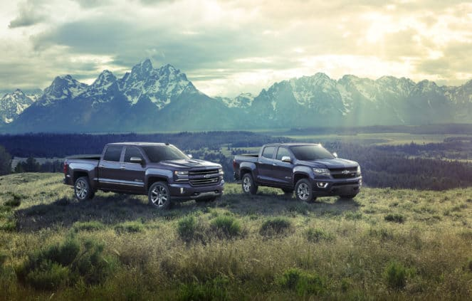 2018 юбилейный выпуск Chevrolet: Silverado & Colorado