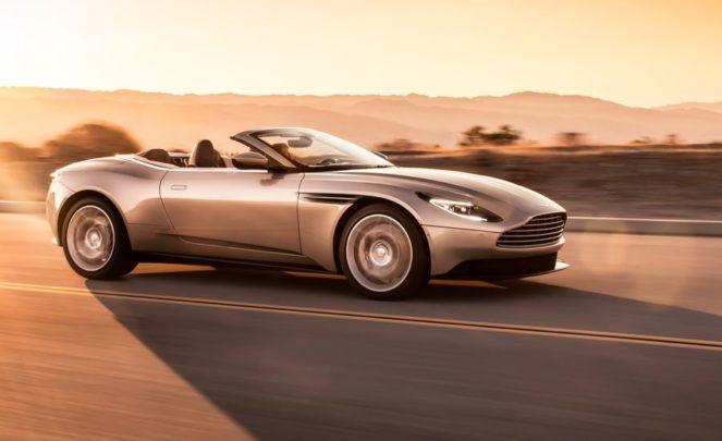 Новый кабриолет от Aston Martin заставит ваши орешки сжаться