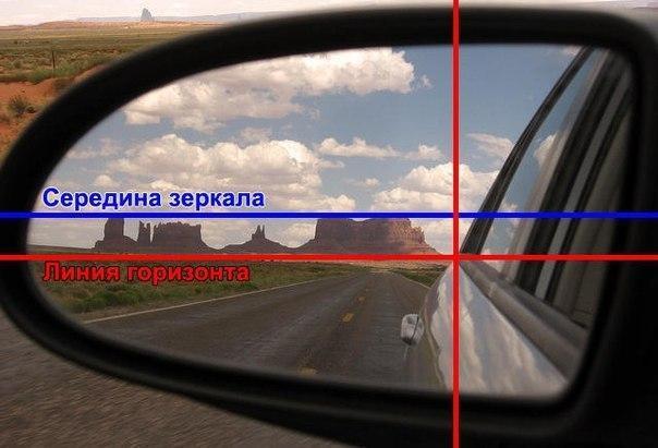 Регулировка бокового зеркала