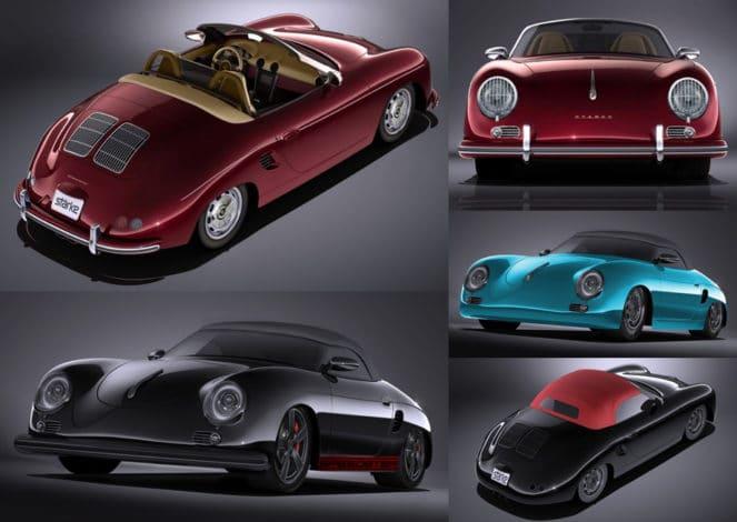 Перевыпуск раритетного автомобиля Porsche