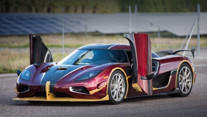 Koenigsegg Agera обогнал Bugatti Chiron