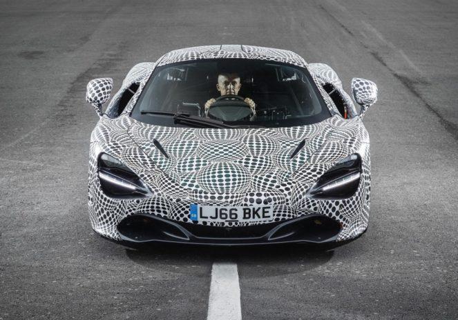 Скоростной McLaren с необычным креслом