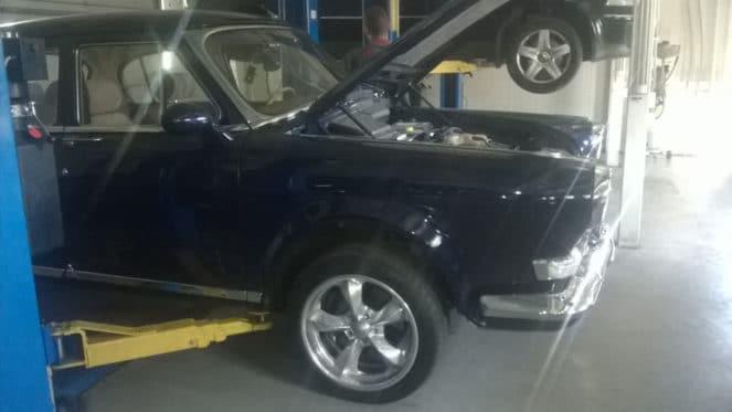 Сделано в Украине: Audi A6 превратили в Волгу