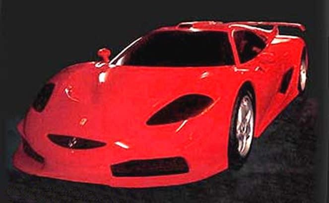 Уникальный Ferrari