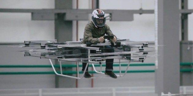 Завод Калашникова решил удивить большим квадрокоптером