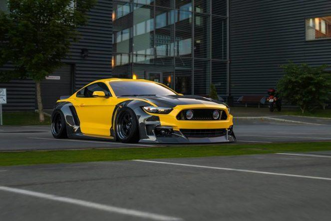 Ford Mustang GT в карбоне от Clinched