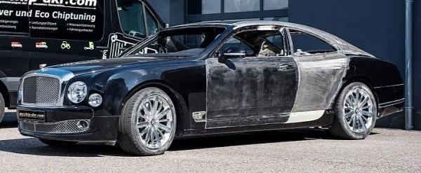 "Из лимузина Bentley сделали ""купешку"""