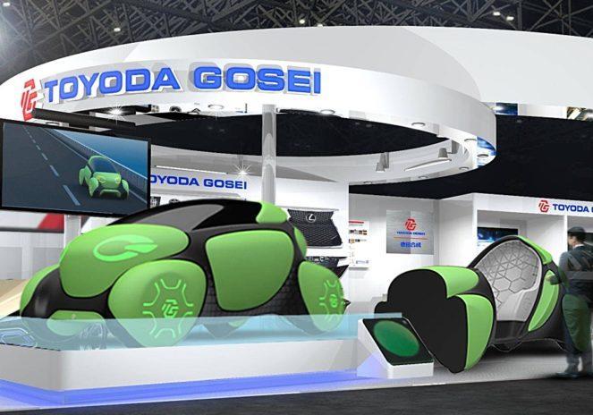 Концепт будущего автомобиля Toyoda
