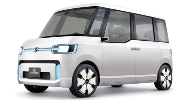 В этом году Daihatsu выпускает еще несколько необычных авто