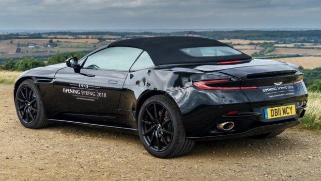 Aston Martin выпускает новую модель