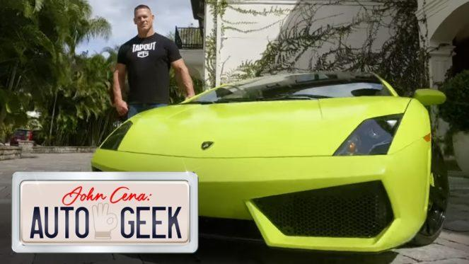 Lamborghini Gallardo Джона Сины выставлен на продажу