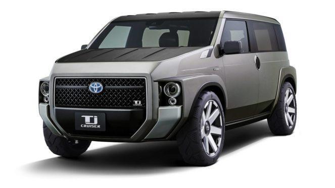 2 в 1 от Toyota: внедорожник+фургон