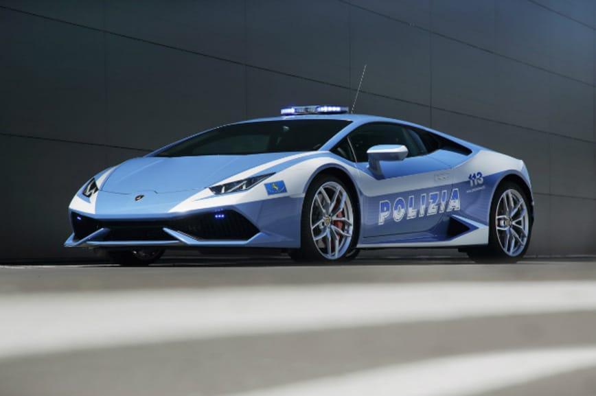Полицейский Lamborghini