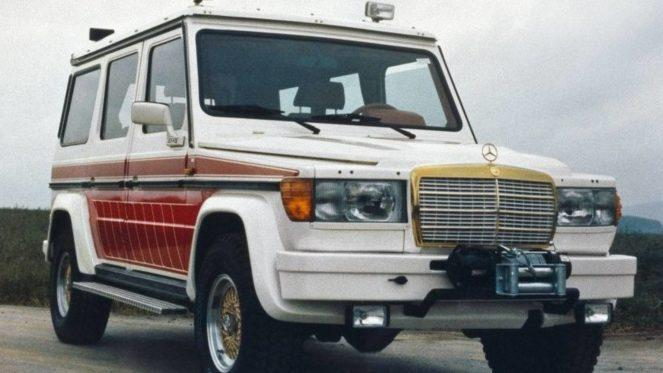 Mercedes Gelandewagen в редкостном спортивном амплуа