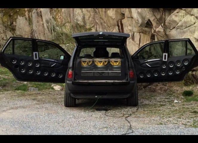Шестиколесный BMW X5 от тюнинг-фирмы Nautiluz Creation