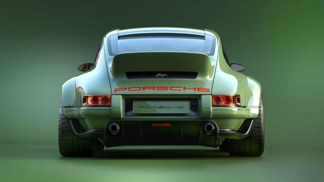 Классический Porsche 964 предстанет в новом амплуа