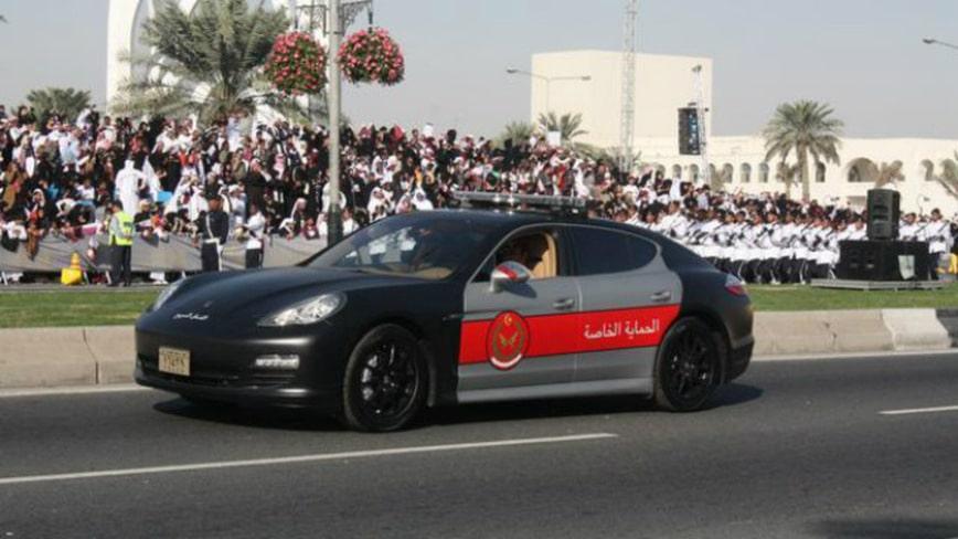 Полицейский Porsche