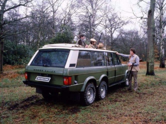 Шестиколесный внедорожник Range Rover