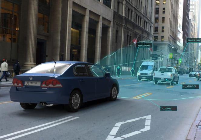 Система сканирование окружающей среды в автомобиле