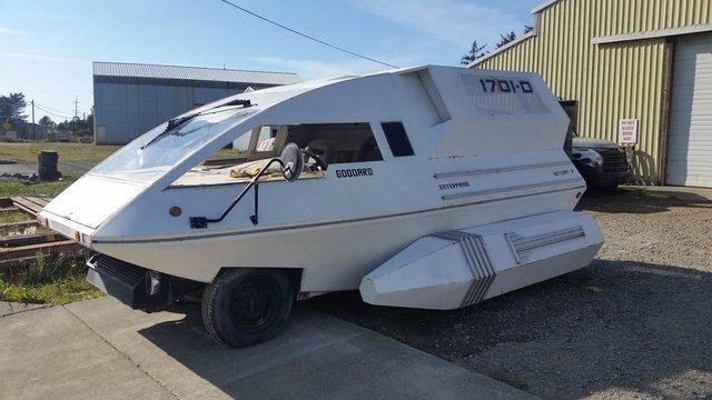 Автомобиль в виде космического корабля