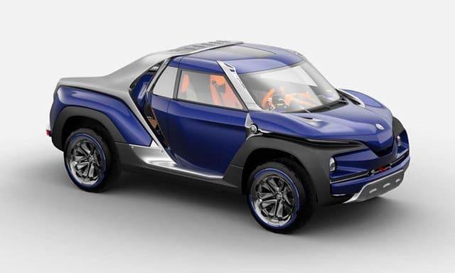 Yamaha представила туристический пикап