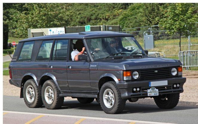 Неизвестный шестиколесный Range Rover вынырнул из прошлого