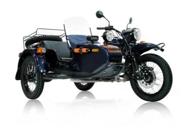 Раритетный мотоцикл Урал для США