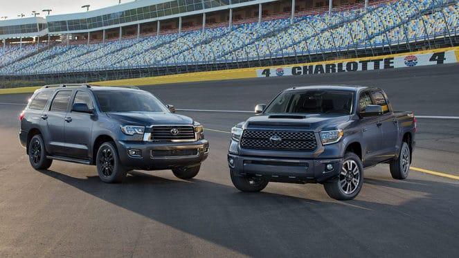 Спортивные версии внедорожников Toyota Tundra и Toyota Sequoia